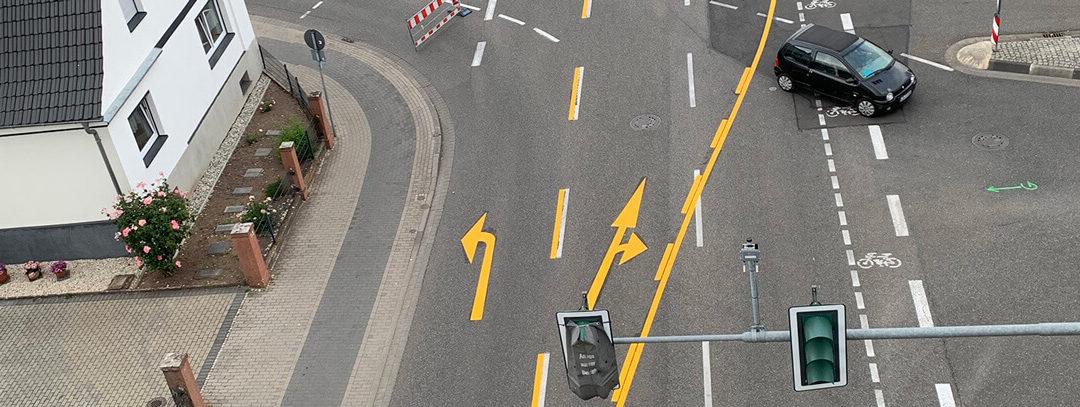 Verkehrssicherheit ist gelb