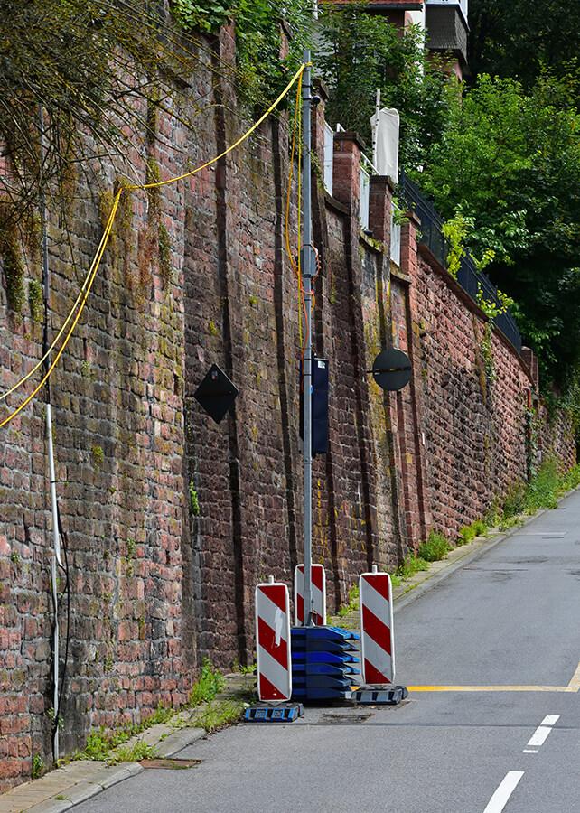 Ampelinstalation in Heidelberg